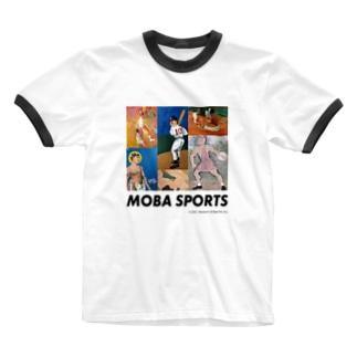 バッドアートスポーツ Ringer T-shirts
