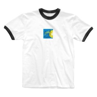 太陽の罠 Ringer T-shirts