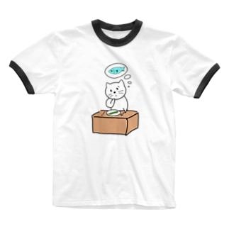 やっぱアレだねこ Ringer T-shirts