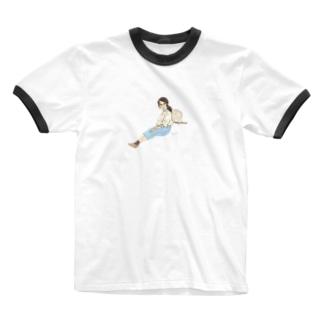 寄り添うのさ。Ⅳ Ringer T-shirts