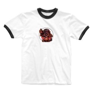 熊吉 Ringer T-shirts