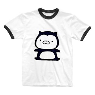 SUZURI×ヤマーフのムーネフ Ringer T-shirts