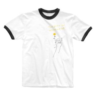 aki_ishibashiの今が一番 Ringer T-shirts