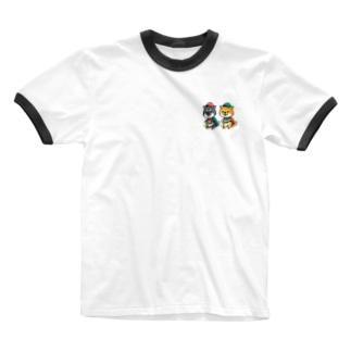 柴犬グッズ Ringer T-shirts