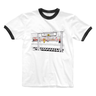 Berlinシリーズ「地下鉄」 Ringer T-Shirt