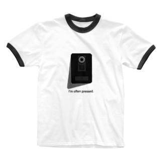 インターホン Ringer T-shirts
