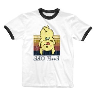 性交オフ Ringer T-shirts
