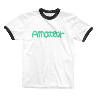 アマチュア② Ringer T-shirts