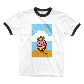 なつきぶん🍉 Ringer T-shirts