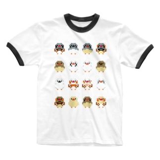 ドットキンカブラザーズ+ Ringer T-shirts
