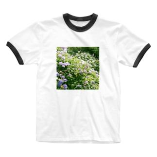 kcsmyoaのAJISAI Ringer T-shirts