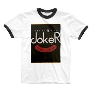 ジョーカーくん Ringer T-shirts