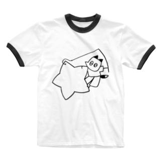 Corneliusのほしつり Ringer T-shirts