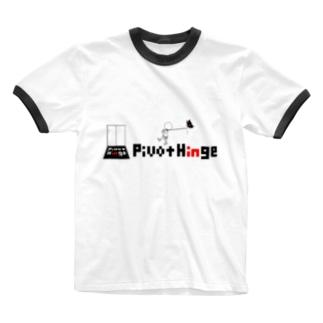 RingerT-shirt(White)/PivotHinge(4) Ringer T-shirts