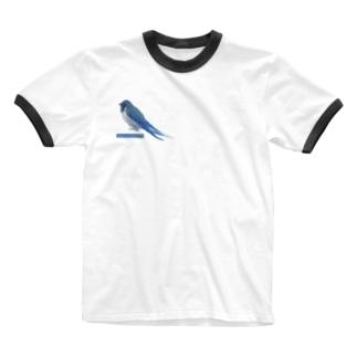 つばめ Ringer T-shirts