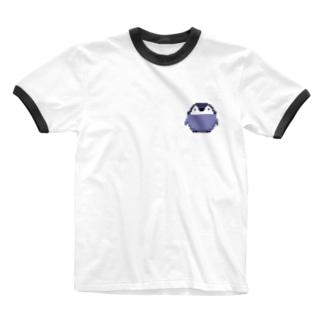 皇帝ペンギンの子供 Ringer T-shirts