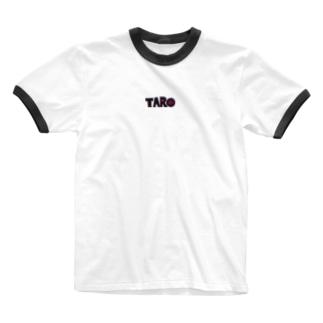 手描き🎨TAROのTARO Ringer T-shirts