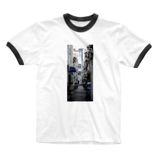 あなたのまちの Ringer T-Shirt