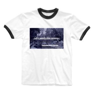 worklikesession01 Ringer T-Shirt