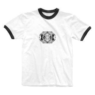 全國本ノ虫會 Ringer T-shirts