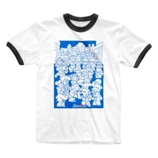 KUNIOKUN Special全員集合 Ringer T-shirts
