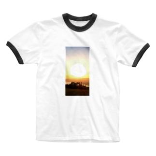 サンシェード Ringer T-shirts