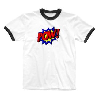 POW! Ringer T-shirts