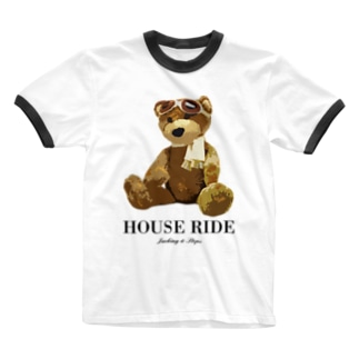 HOUSE DANCE MANIAのLittle house rider -Type:A Ringer T-shirts