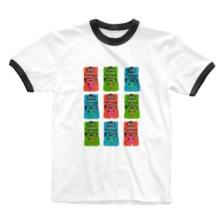 ゲームウォッチのおもしろさは異常 Ringer T-shirts