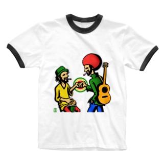∞ アヤナイセッション ∞ Ringer T-shirts