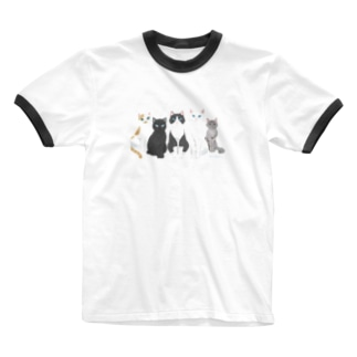 All we need is cat  Ringer T-shirts
