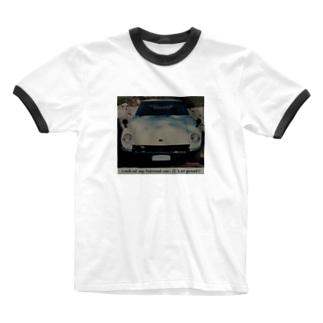 父のフェアレディZ Ringer T-shirts