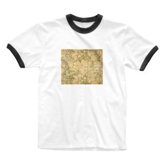 ミュシャ Alphonse Mucha Ringer T-shirts