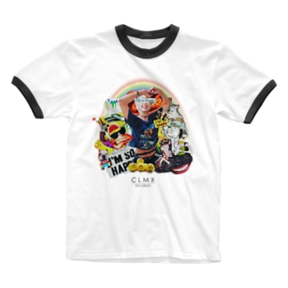 """""""I'm So HAPPY"""" WEAR from Next Level(s) Ringer T-shirts"""