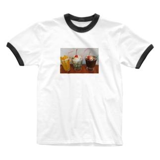 ふゆちぇりーおうち喫茶店 Ringer T-Shirt