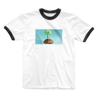 Palm Tシャツ Ringer T-shirts