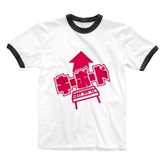 キーボーディストの為の服 Ringer T-shirts