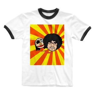 が総研 Ringer T-shirts