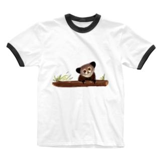 アイアイ Ringer T-Shirt