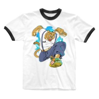 サマー休み Ringer T-Shirt