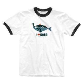 みすたー・さば 東北☆家族 Ringer T-shirts
