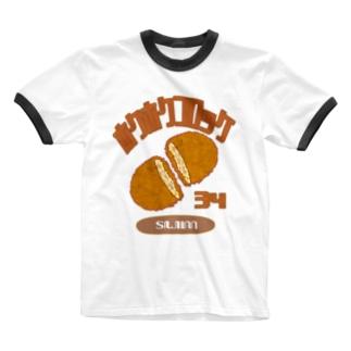 「ほくコロ」 Ringer T-Shirt