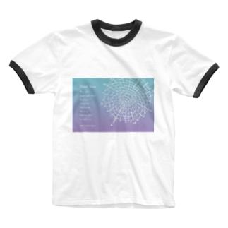 宇宙ドリンクメニューシリーズ Ringer T-shirts