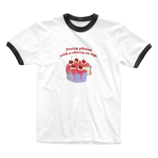 🍒🍰 Ringer T-shirts