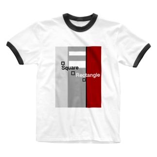 Square    Rectangle  Ringer T-Shirt