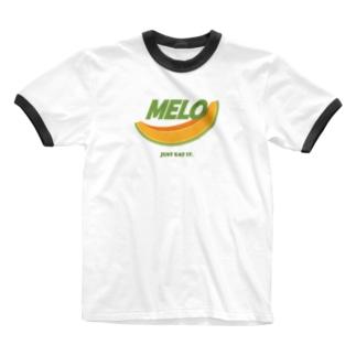 MELO [パロディ] Ringer T-shirts