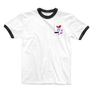 うさぎ♥️女子 Ringer T-shirts