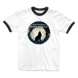 Wolf PAPAHOUSE Ringer T-Shirt