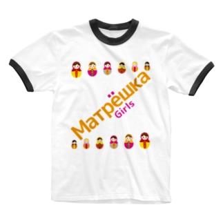 Matryoshkagirls Ringer T-shirts