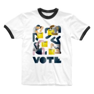 VOTE Ringer T-shirts